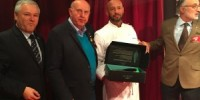 Prize giving to best young talent IF and other prizes at the Monte Carlo Food Fair