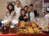 C'est le PANIFICIO GIULIANI au Salon de la Gastronomie à Monte-Carlo: grand succès!!!!