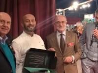 Remise du prix Meilleur Jeune Talent IF et autres récompenses au Salon de la Gastronomie 2015 de Monte-Carlo