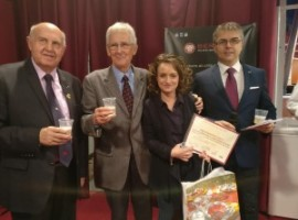 Prix du Meilleur Jeune talent IF remis à une monégasque lors du Salon de la Gastronomie 2016e Monte Carlo
