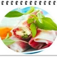 Rouleau de printemps Bœuf et mozzarella
